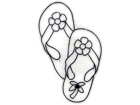 free flip flop coloring pages