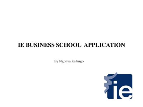 Ie Mba Application by Ie Business School Application Question F