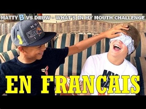 challenge traduction mattyb vs druw what s in my challenge traduction