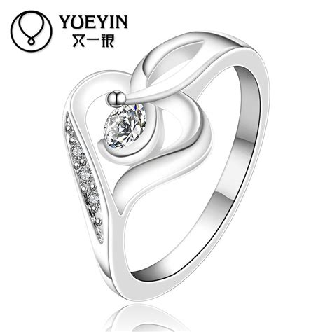 Kaos Silver New Design new design silver rings for shape wedding ring inlaid fashion jewelry inlaid