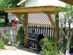 Bbq Pergola Plans by Pergola Quot Plus Quot For My Charcoal Grill By Fjpetruso