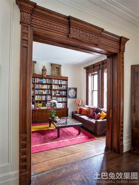 Antique Wainscoting 欧式客厅门洞装修效果图 土巴兔装修效果图