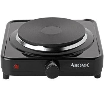 office hot plate aroma ahp 303 chp 303 single hot plate black