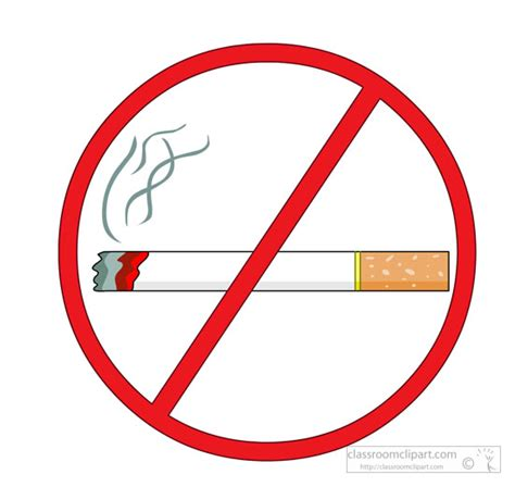 no smoking sign clip art signs clipart red no smoking sign showing cigarette