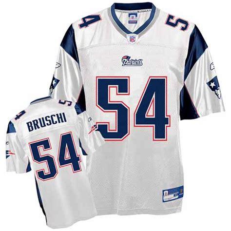 elite tedy bruschi mens jersey new patriots 54