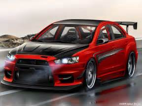 mitsubishi lancer evolution ix rs wicked white bla