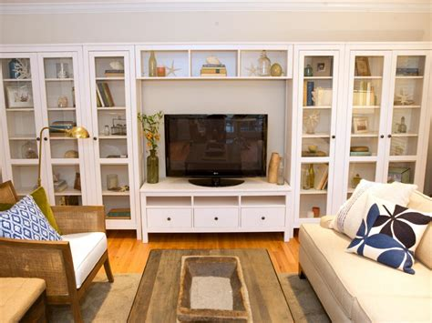 living room built in shelves 10 beautiful built ins and shelving design ideas hgtv