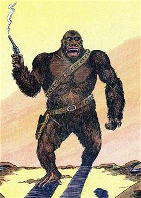 bigfoot west coast a history of gorillas and other monsters in california oregon and washington state books six gun gorilla