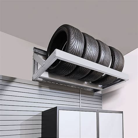 Wall Mounted Tire Rack by Specialty Garage Products Calgary Racks Shelving