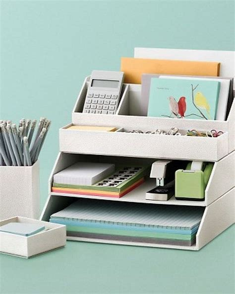 Home Office Desk Organization Ideas 25 Best Ideas About Desk Accessories On Pinterest Office Desk Accessories Office Accessories