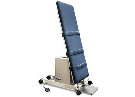tilt table protocol for physical therapy physical therapy tilt treatment table