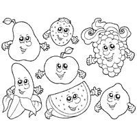preschool coloring pages fruits and vegetables 1000 images about healthy eating week on pinterest