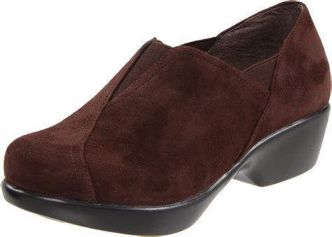 brown suede loafers womens dansko womens arden slipon loafer in brown brown suede