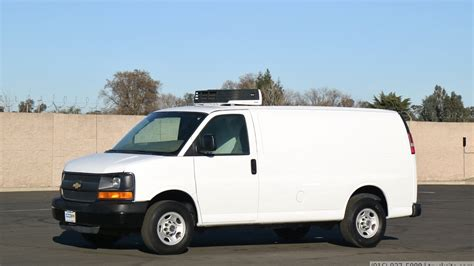 chevrolet carrier  refrigerated cargo van youtube