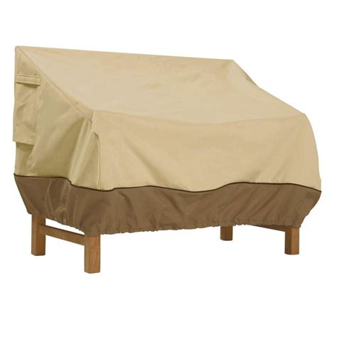 classic accessories veranda 58 in patio loveseat cover