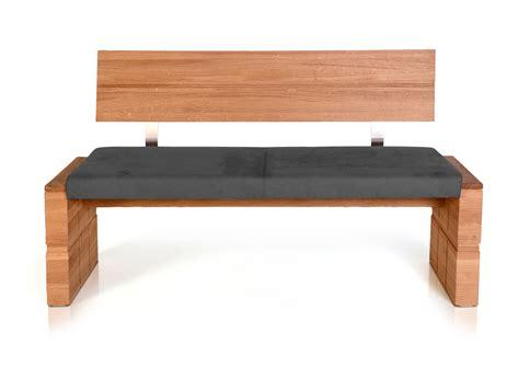 gestell sitzbank wood sitzbank mit r 252 cken und massivem gestell 150 cm