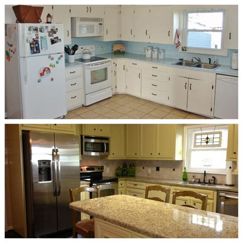 kitchens remodeled before and after pictures before and after kitchen remodel kitchen redo
