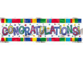 congratulation banner partystore banners posters signs wall murals vinyl congratulations banner
