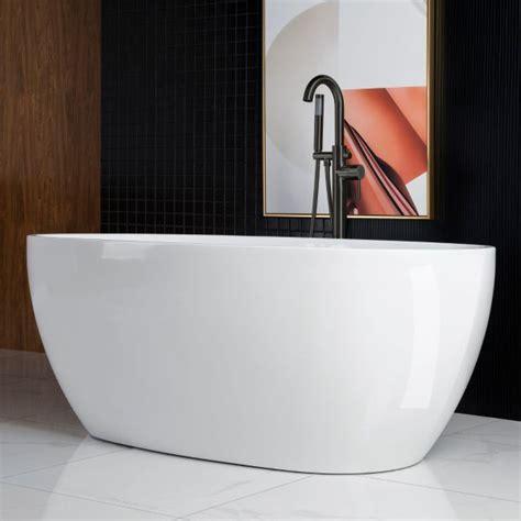 woodbridge  acrylic freestanding bathtub contemporary