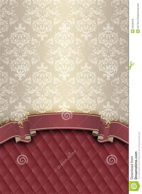 vintage elegant pattern decorative vintage background with elegant patterns