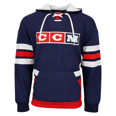 ccm vintage sr pullover hoody