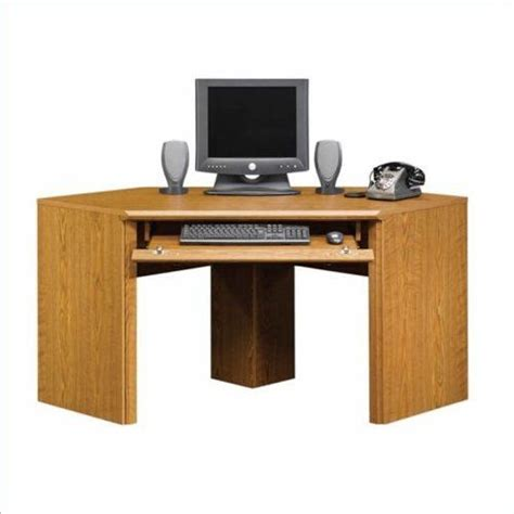 corner computer desk oak finish 23 best small corner computer desk images on pinterest