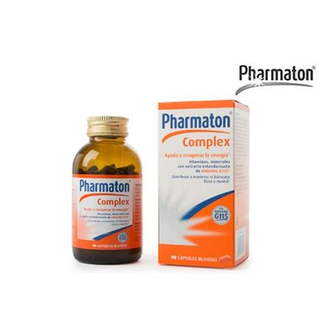 Vitamin Pharmaton Pharmaton Complex 60 Softgels Parafarmacia