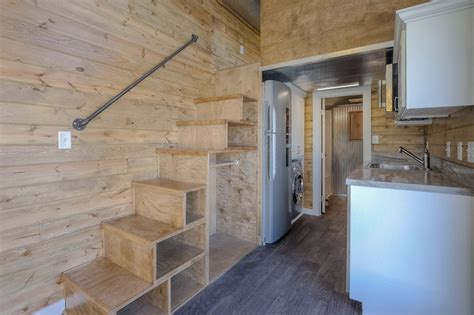 tiny house size slick tiny house converted from 40 foot shipping container
