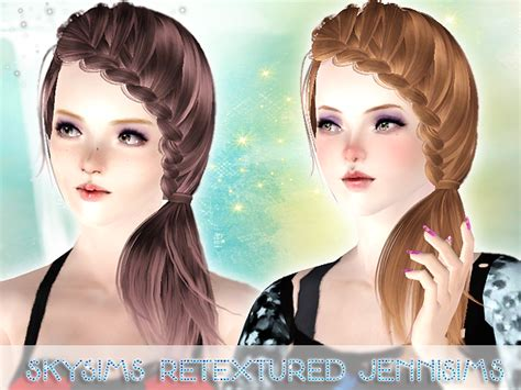 download hair female the sims 3 female sims 3 genetics