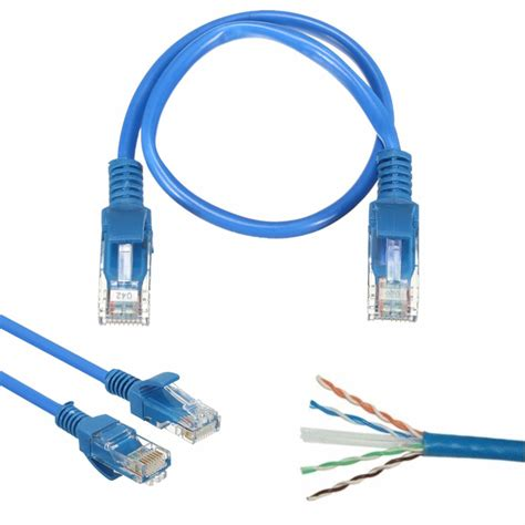 Patch Cord Cat5 35m Izinet 20cm blue rj45 cat5 gold plated networking lan ethernet patch cable alex nld