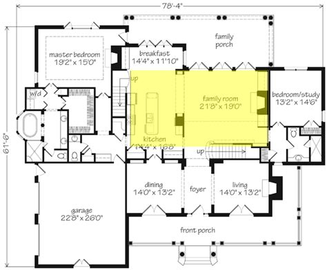 family home plans com house plans with two family rooms home deco plans