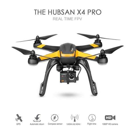 Drone Hubsan X4 Pro H109s Low Edition 1 Axis 5 8g Real Fpv Rc Quadcor hubsan h109s x4 pro 5 8g fpv drone sale shopping us tomtop