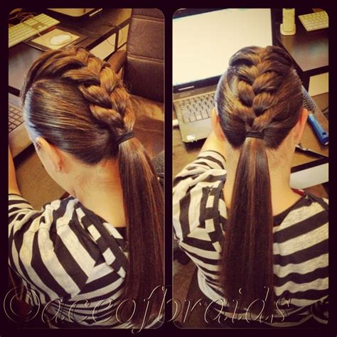 overnight hairstyles for greasy hair mowhawk braid braids pinterest how to braid my hair
