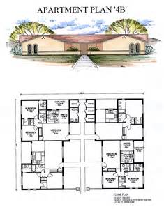 House Plans With Mil Apartment by Apartments4b