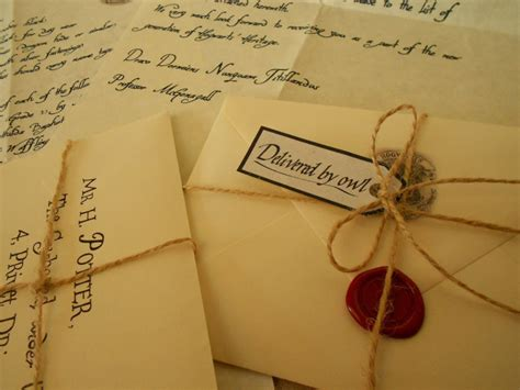 Hogwarts Acceptance Letter Wedding Invitation Send Your Delayed Hogwarts Acceptance Letter Fiverr