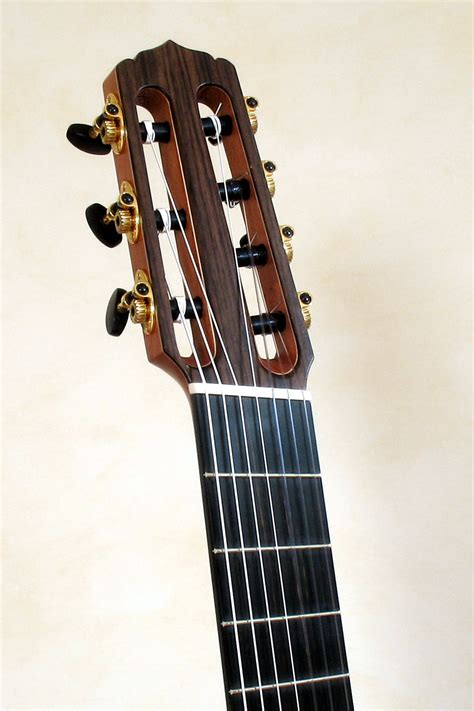 fanned fret 7 string 7 string classical guitar with fanned frets stoll guitars