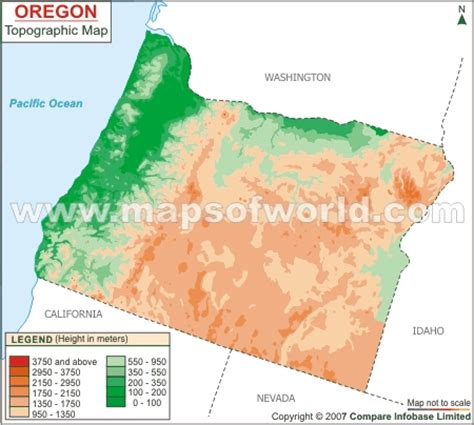 3d topographical map of oregon checklist it s raining tonight a substantial