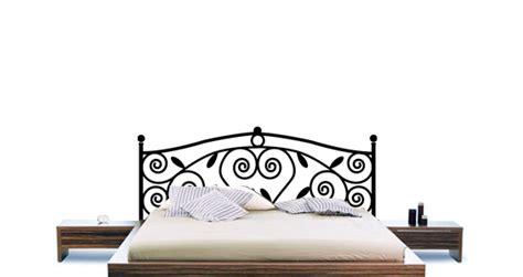 pose tete de lit stickers muraux sticker t 234 te de lit ornementale sticker d 233 coration murale dezign fr
