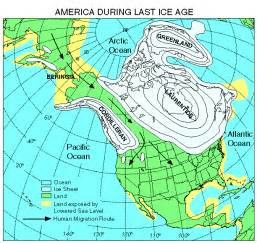 map of america 10000 years ago our changing climate
