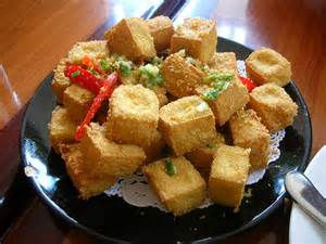 homemade crispy fried tofu recipe