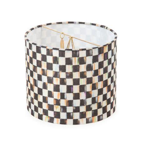 check pattern drum mackenzie childs courtly check drum chandelier shade