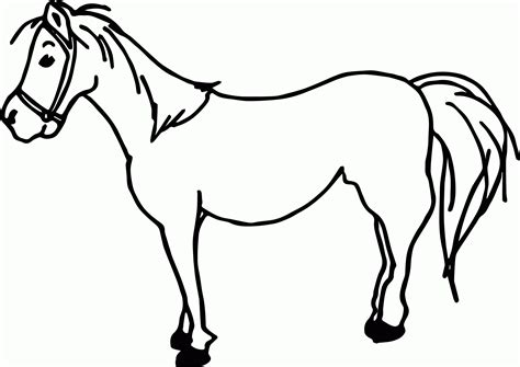 coloring pages of cartoon horses horses cartoon coloring page coloring home