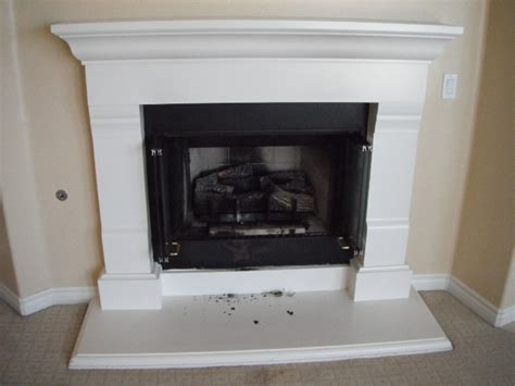fireplace on oceanside home inspection