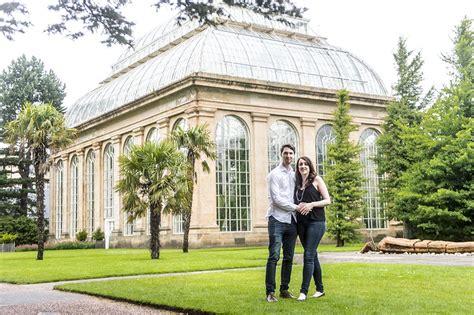 royal botanic gardens edinburgh engagement pre shoot