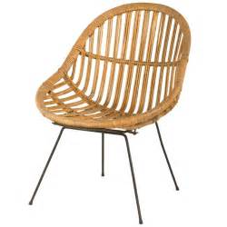 vintage rattan chair at 1stdibs
