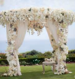 outdoor garden wedding ceremony decorations ideas 13