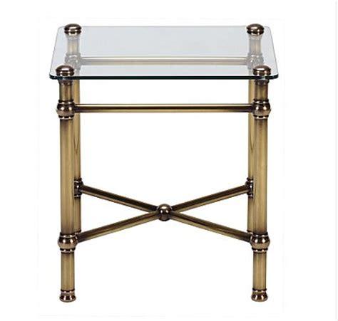 Brass Bedside Table Ls by Bedside