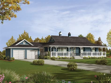 ranch house floor plans with wrap around porch caldean country ranch home plan 062d 0041 house plans