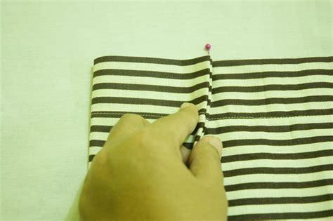 Tas Lipat Simple Dan Praktis tutorial tas bahu garis garis simple striped tote bag