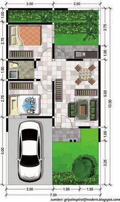 denah rumah sederhana 6x12 meter kpr minimalis ornamen denah rumah sederhana 6x12 meter kpr minimalis planos de